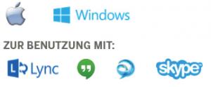 kompatibel skype for business webex gotometting jabber cisco tandberg polycom lifesize