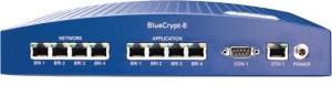 BlueCrypt 8 hardware basierende Verschlüsselung mit wechselnden Schlüsseln während einer Verbindung