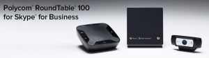 polycom roundtable 100 skype for business
