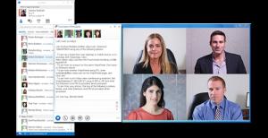Lync-Screenshot Video Paketverlust